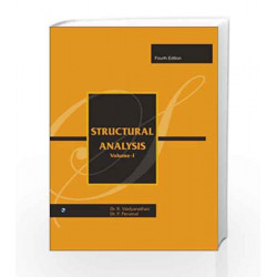 Structural Analysis - I by R. Vaidyanathan Book-9788131803851