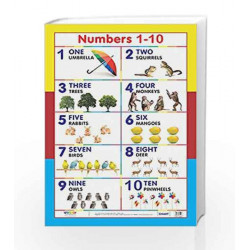 Number 1 - 10 by In House Book-9788179681145