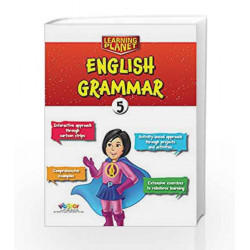 Learning Planet English Grammar-5 by R.K.Gupta Book-9789352742387