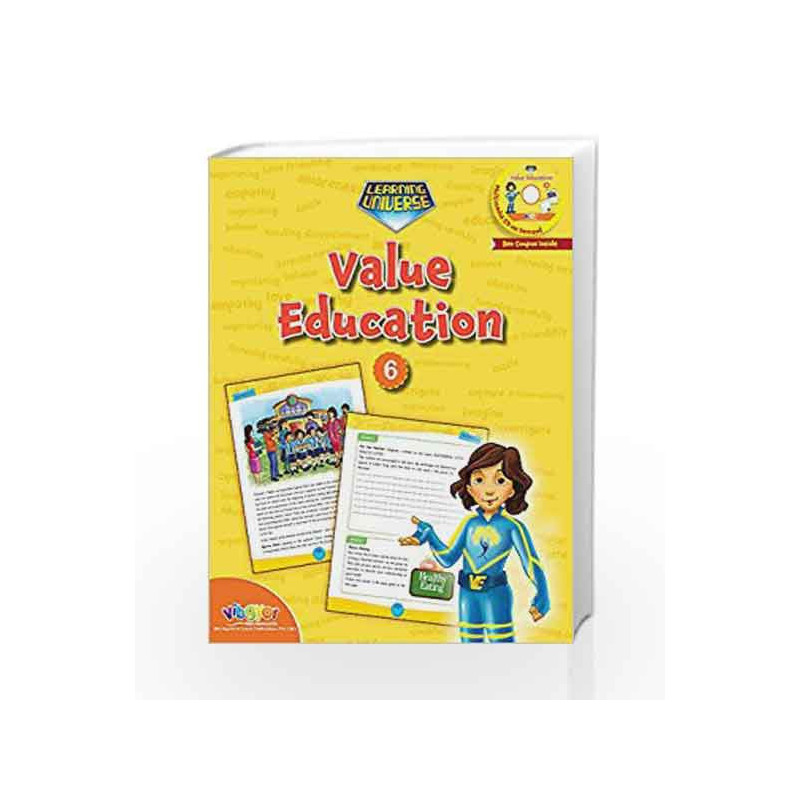 LEARNING UNIVERSE-VALUE EDUCATION - 6 by Sakshi Gupta Book-9789352741373