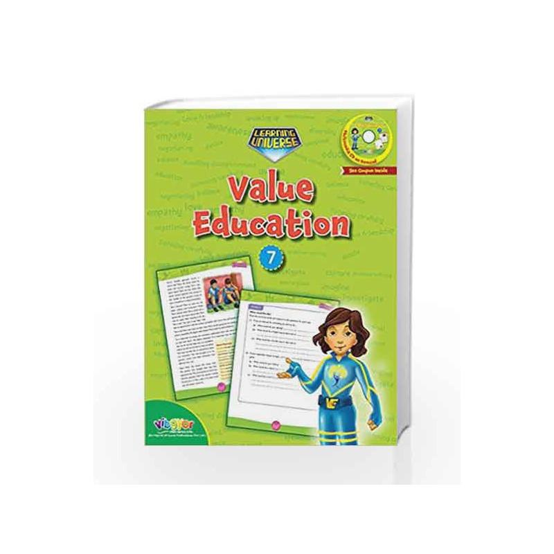 LEARNING UNIVERSE-VALUE EDUCATION - 7 by Sakshi Gupta Book-9789352741380