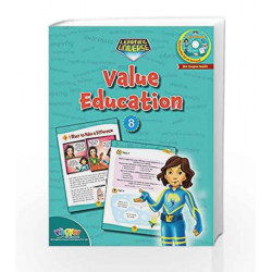 LEARNING UNIVERSE-VALUE EDUCATION - 8 by Sakshi Gupta Book-9789352741397