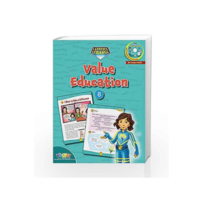 LEARNING UNIVERSE-VALUE EDUCATION - 8 by Sakshi Gupta Book-9789352741397
