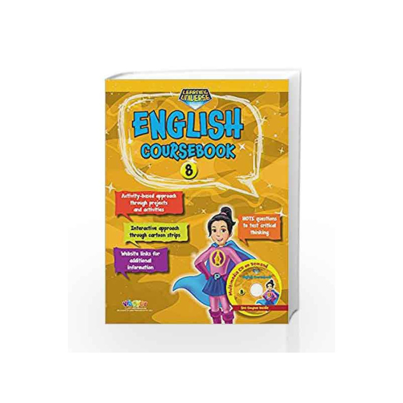 Learning Universe English Coursebook-8 by R.K.Gupta Book-9789352741663