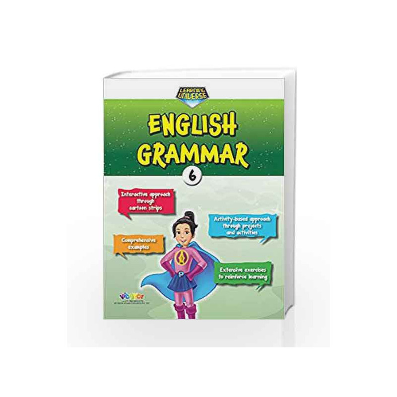 Learning Universe English Grammar-6 by R.K.Gupta Book-9789352741731