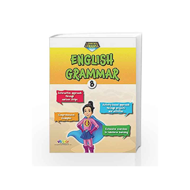 Learning Universe English Grammar-8 by R.K.Gupta Book-9789352741755