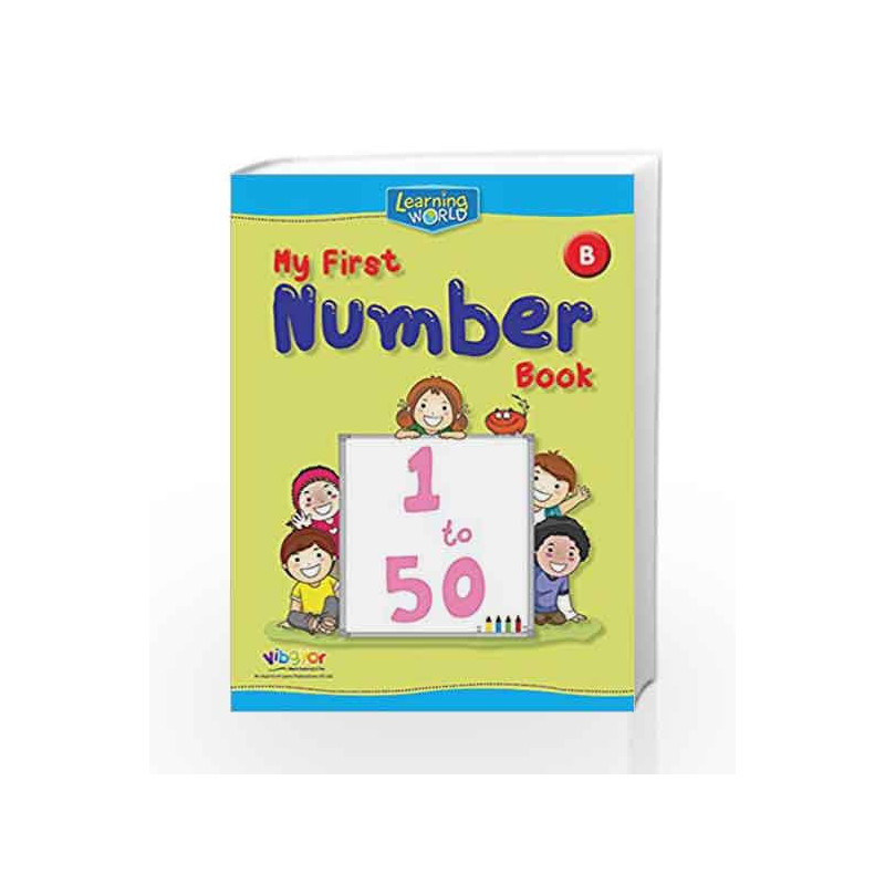 Learning World-My First Number Book-B by Board of Editors Book-9789386035400