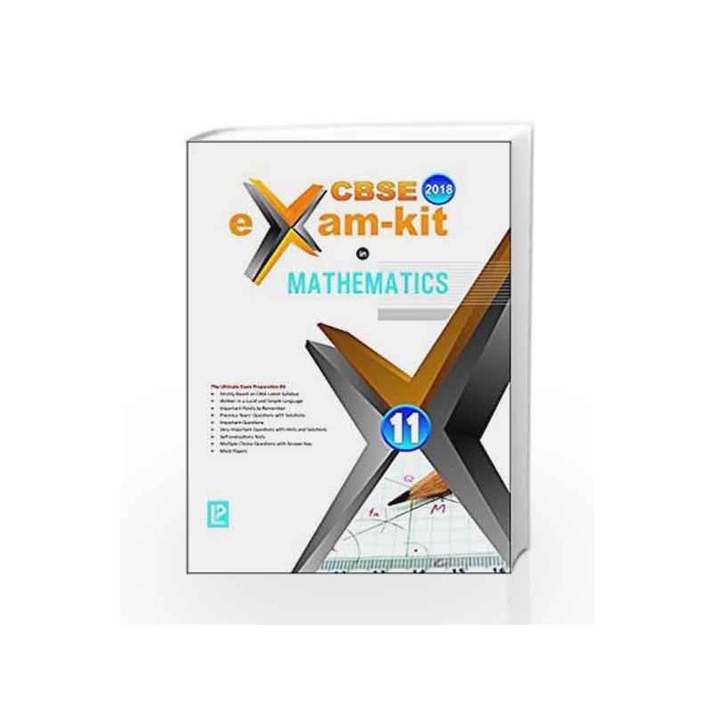 EXAM KIT IN MATHEMATICS XI by A  P  Prabhakaran-Buy Online EXAM KIT IN  MATHEMATICS XI First edition (2017) Book at Best Price in