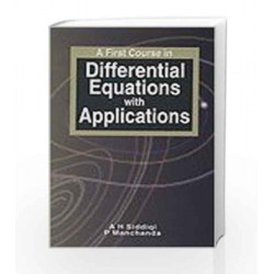 A First Course in Differential Equations with Applications by Siddiqi Book-9781403930187