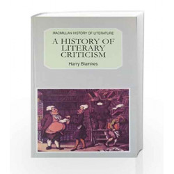 A History of Literary Criticism by Dumas A Book-9780333934784