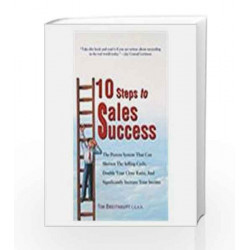 10 Steps to Sales Success by Tim Breithaupt Book-9780230637030