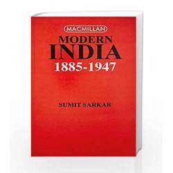 Modern India: 1885-1947 by Sumit Sarkar Book-9780333904251