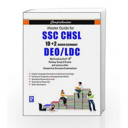 Comprehensive Master Guide for SSC CHSL, 10+2 Higher Secondary, DEO/LDC, Multitasking Staff 10th, Railway Group-D