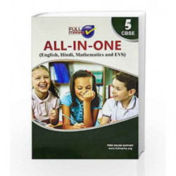All-in-One (E+H+M+EVS) Class 5 by Full Marks Book-9789381957905