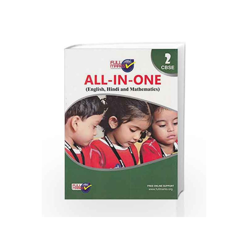 All-in-One (E+H+M+EVS) Class 2 by Full Marks-Buy Online All-in-One  (E+H+M+EVS) Class 2 2017 edition (2017) Book at Best Price in