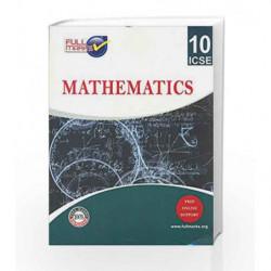 ICSE - Mathematics Class 10 by Full Marks Book-9789382741190