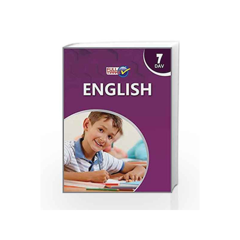 DAV - English Class 7 by Full Marks-Buy Online DAV - English Class 7 Book  at Best Price in India:Madrasshoppe com