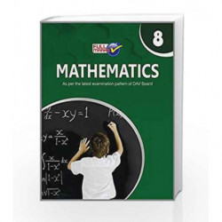 DAV Mathematics for Class 8 CBSE by Team of Exeperience Author Book-9789351551607