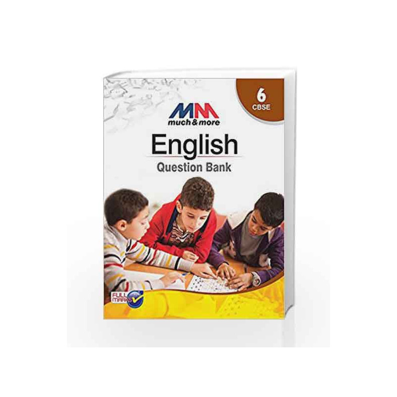 MM - Question Bank English Class 6 by Tanay Sukumar-Buy Online MM -  Question Bank English Class 6 Book at Best Price in India:Madrasshoppe com