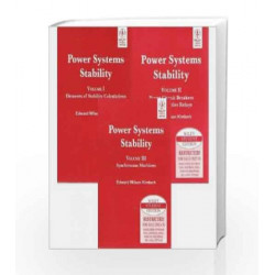 Power System Stability, Vol I, II, III by Kimbark Book-9788126512577