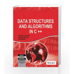 Data Structures and Algorithms in C++ by Roberto Tamassia, David Mount Michael T. Goodrich Book-9788126512607