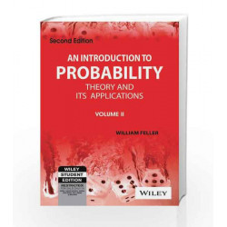 An Introduction to Probability Theory and its Applications, Vol 2, 2ed by Willliam Feller Book-9788126518067