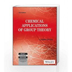 Chemical Applications of Group Theory, 3ed by  Book-9788126519255