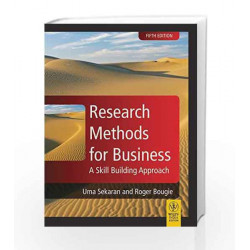 Research Methods for Business: A Skill Building Approach by Uma Sekran Book-9788126531318