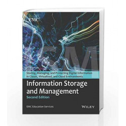 Information Storage and Management, 2ed by Emc Education Services Book-9788126537501