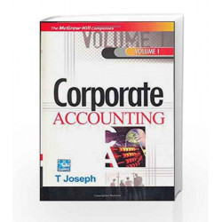 Corporate Accounting - Vol.1 by T Joseph Book-9780070077867