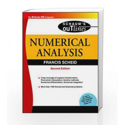 Numerical Analysis - SIE by Francis Scheid Book-9780070085527