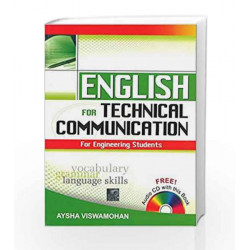 English for Technical Communication (With CD) by Aysha Viswamohan Book-9780070264243