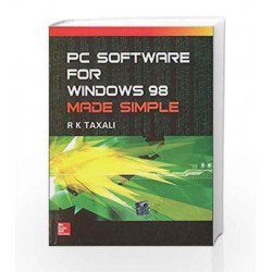 Pc Software for Windows 98 Made Simple by Ravi Taxali Book-9780070403062