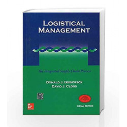 Logistical Management: The Integrated Supply Chain Process by Donald Bowersox Book-9780070435544