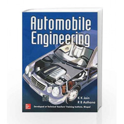 Automobile Engineering by Technical Teacher'S Training Bhopal Book-9780070445291