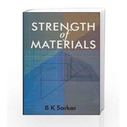 Strength of Materials by B Sarkar Book-9780070494848
