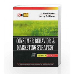 CONSUMER BEHAVIOR & MARKETING STRATEGY by J. Paul Peter Book-9780070601581