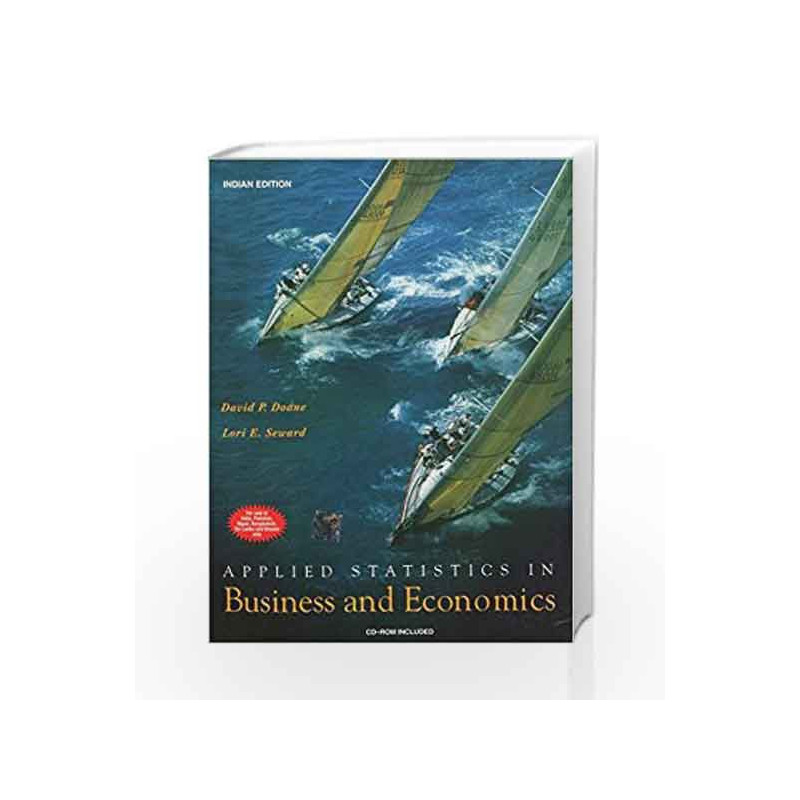 APPLIED STATISTICS IN BUSINESS AND ECONOMICS by David Doane Book-9780070618411