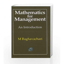 Mathematics for Management: An introduction by M. Raghavachari Book-9780070965706
