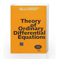 Theory of Ordinary Differential Equations by Earl Coddington Book-9780070992566