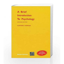 A Brief Introduction to Psychology by Clifford Morgan Book-9780070994553