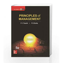 Principles of Management by P C Tripathi Book-9780071333337