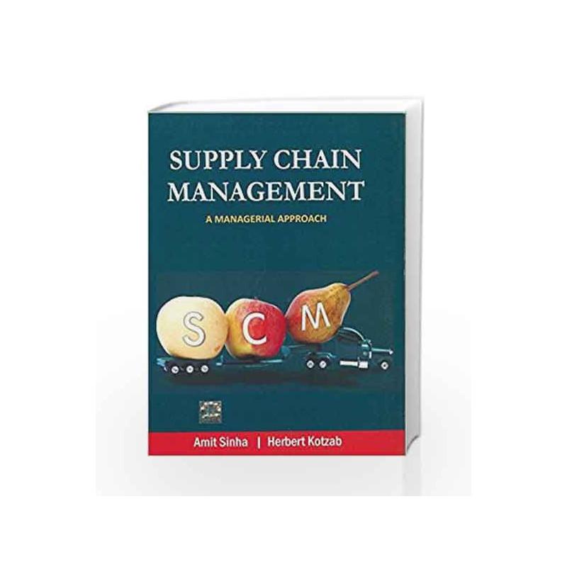 Supply Chain Management by Amit Sinha Book-9780071333436