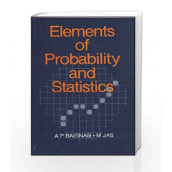 Elements of Probability and Statistics by A Baisnab Book-9780074600412