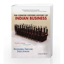 The Concise Oxford History of Indian Business by  Book-9780195684292
