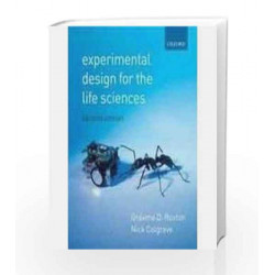 Experimental Design For The Life Sciences - 2/E by Graeme D. Ruxton Book-9780195686326
