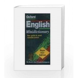 Oxford English minidictionary by OUP India Book-9780195692587