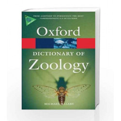 A Dictionary of Zoology (Oxford Quick Reference) by  Book-9780199233410