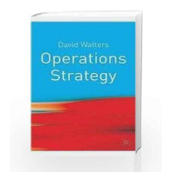 Operations Strategy by  Book-9780230224964