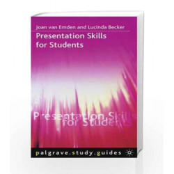 Psgu Pres Skills Students Indian by Van Emden J  Becker Book-9780230327832